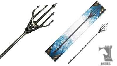 Aquaman  Atlanna Trident Scaled Prop Replica