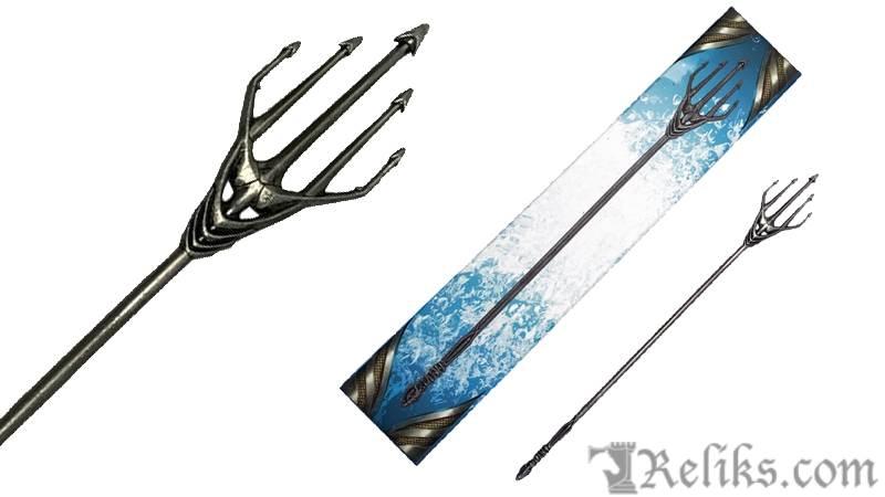 Aquaman - Atlanna Trident Scaled Prop Replica