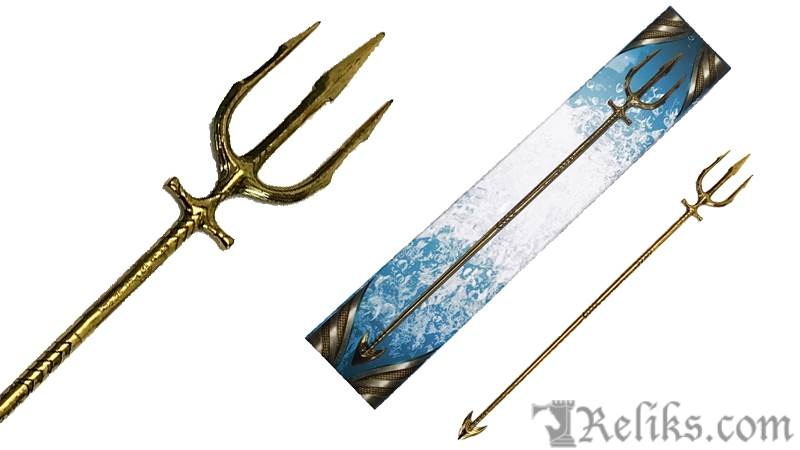 Aquaman Trident Scaled Prop Replica
